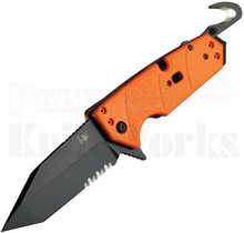 HK Karma Tanto First Response Knife Orange G-10 54204