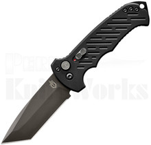 Gerber 06 Automatic Knife Black 30-001297 Black Tanto