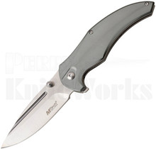 MTech USA Linerlock Knife Gray Aluminum MT-1035GY
