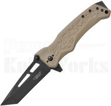 Camillus GB-8 Liner Lock Knife Brown GFN 19242