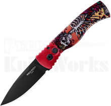 Protech TR-2.41 Automatic Knife Skeleton Rose