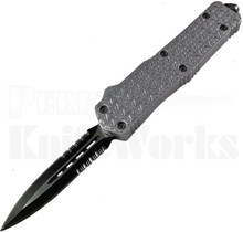 Delta Force CQB-2 D/A OTF Automatic Knife Silver
