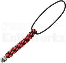 Schmuckatelli Cyber Mini Lanyard Red & Black