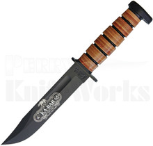 Ka-Bar 120th Anniversary Dog's Head Fixed Blade Knife 9193