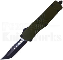 Delta Force Green Tanto Point OTF Automatic Knife