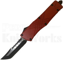 Delta Force Red Tanto Point OTF Automatic Knife