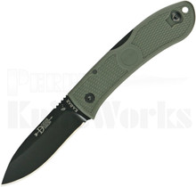 Ka-Bar Dozier Folding Hunter Knife Green 4062FG