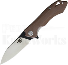 Bestech Knives Beluga Knife Brown G-10 BG11C-1