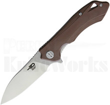 Bestech Knives Beluga Knife Brown G-10 BG11C-2