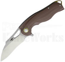 Bestech Knives Rhino Knife Brown G-10 BG08B-1