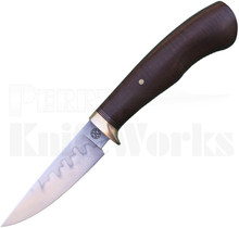 Kevin Slattery Custom Fixed Blade Knife Gidgee Wood