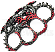 Master Cutlery Dragon Belt Buckle Knuckles PK-2443RD