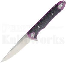 Artisan Cutlery Small Shark Framelock Knife Purple 1707SG-RE