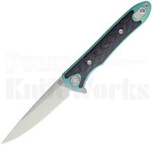 Artisan Cutlery Small Shark Framelock Knife Green 1707GS-GN