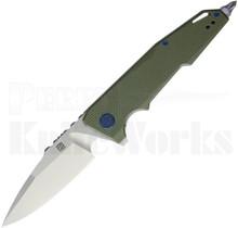 Artisan Cutlery Predator Knife Green G10 1706P-GN