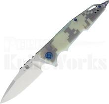 Artisan Cutlery Predator Knife Camo G-10 1706P-CG