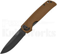 Camillus CUDA Mini Knife Brown G-10 19635