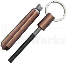 Real Steel Glass Breaker w/Fire Starter - Bronze