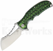 Bestech Knives Hornet Linerlock Knife Black/Green G-10