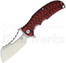 Bestech Knives Hornet Linerlock Knife Black/Red G-10