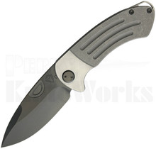 Medford Knife & Tool Theseus Knife Tumbled l Black