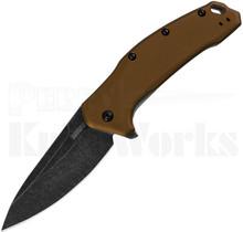 Kershaw Link Linerlock Knife Bronze 1776BRZBW