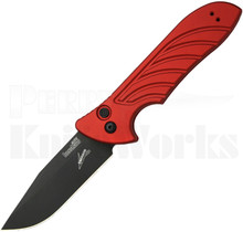 Kershaw Emerson Launch 5 Red Automatic Knife 7600RDBLK