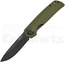 Camillus CUDA Mini Linerlock Knife OD-Green G-10 19633