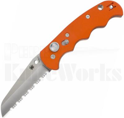 Spyderco Autonomy Automatic Knife Orange C165GSOR