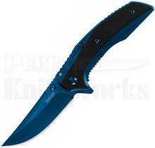 Kershaw Outright A/O Frame Lock Knife Blue/Black G10 8320