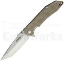 SRM Knives Sanrenmu Liner Lock Knife Tan G-10