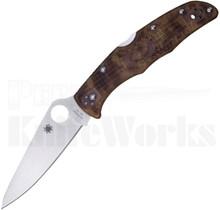 Spyderco Endura 4 Zome Desert Camo FRN Knife