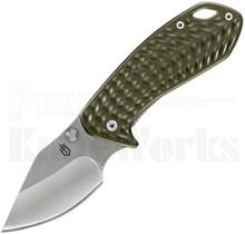 Gerber Kettlebell Framelock Knife Green 30-001521