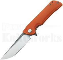 Bestech Knives Paladin Linerlock Knife Orange G-10 Satin