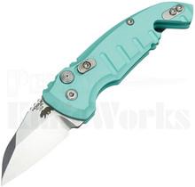 Hogue A01 Microswitch Automatic Knife Aquamarine 24143