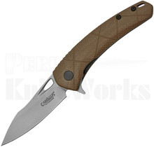 Camillus Blaze Liner Lock Knife Brown G10 19808