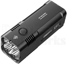 Nitecore Concept 2 Rechargeable Flashlight Black 6500 Lumens