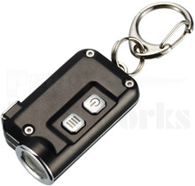 Nitecore TINI Black Key Chain LED Flashlight (380 Lumens)