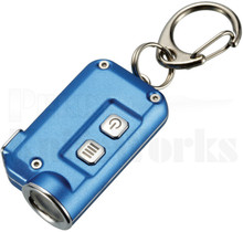 Nitecore TINI Blue Key Chain LED Flashlight 380 Lumens