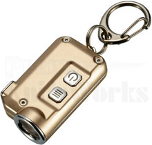 Nitecore TINI Gold Key Chain LED Flashlight 380 Lumens