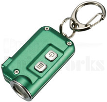 Nitecore TINI Green Key Chain LED Flashlight 380 Lumens