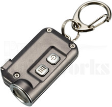 Nitecore TINI Gray Key Chain LED Flashlight 380 Lumens
