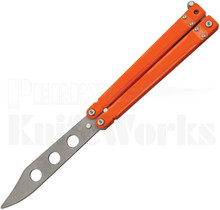Bear OPS Bear Song ll Butterfly Knife Trainer Orange