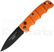 """Boker Kalashnikov Automatic Knife Orange 3.25"""" Black Blade"""