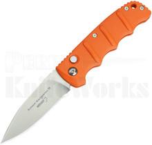 """Boker Kalashnikov Automatic Knife Orange 3.25"""" Satin Blade"""
