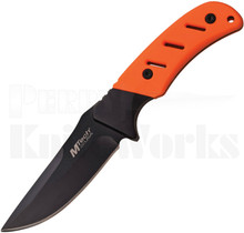 MTech Orange Fixed Blade Knife MT-20-71OR