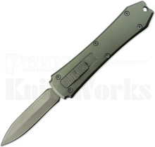 GenPro Gen2 Mini Gun Metal D/A OTF Automatic Knife