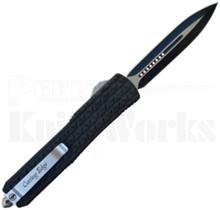 Cutting Edge Triad Black OTF Automatic Knife Spear Point