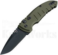 Hogue A01 Microswitch Automatic Knife OD-Green 24111