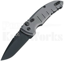 Hogue A01 Microswitch Automatic Knife Gray 24114